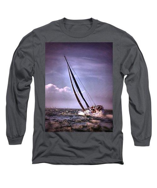 Sailing To Nantucket 003 Long Sleeve T-Shirt
