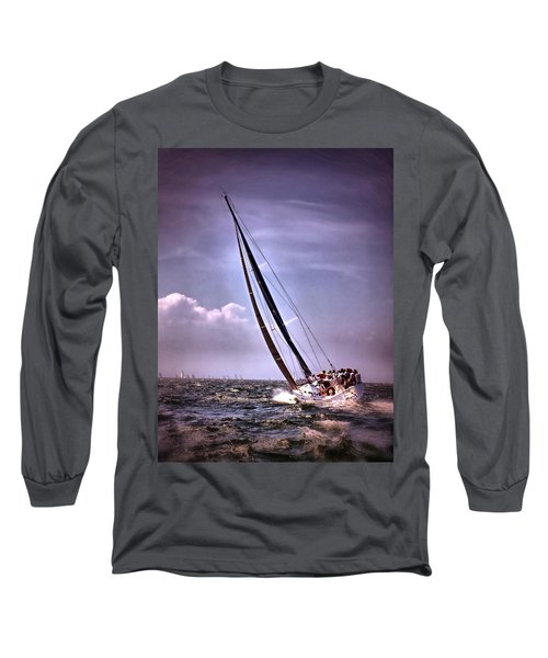 Sailing To Nantucket 003 Long Sleeve T-Shirt