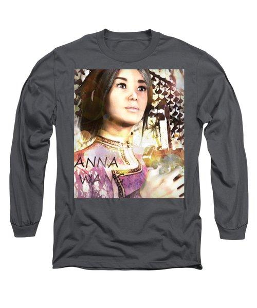 Saint Anna Wang 6 Long Sleeve T-Shirt