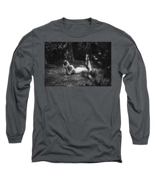 Long Sleeve T-Shirt featuring the photograph Salmace by Traven Milovich