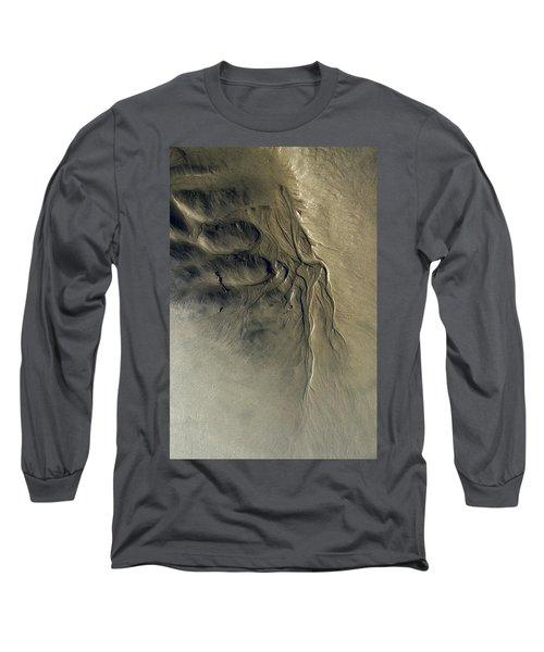 Sandscape 1 Long Sleeve T-Shirt by Newel Hunter