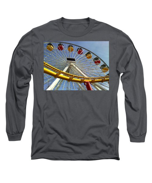 Santa Monica Pier Amusement Park Long Sleeve T-Shirt