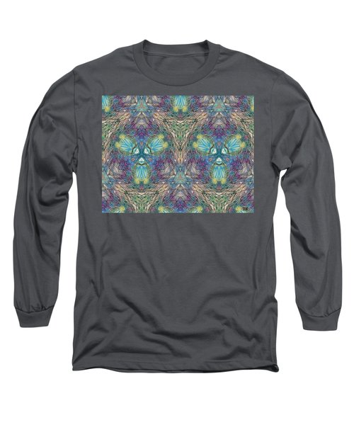 Seascape I Long Sleeve T-Shirt by Maria Watt