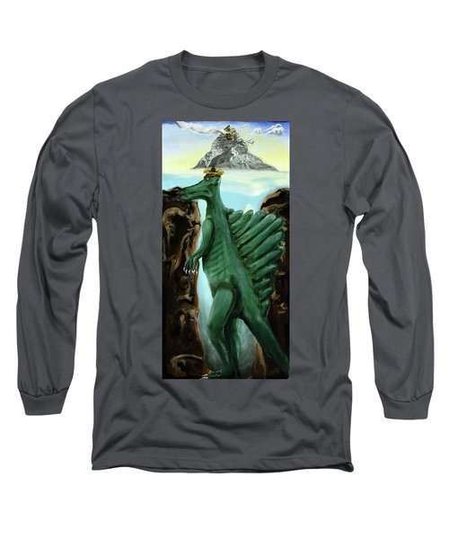 Self-portrait- Meme Long Sleeve T-Shirt