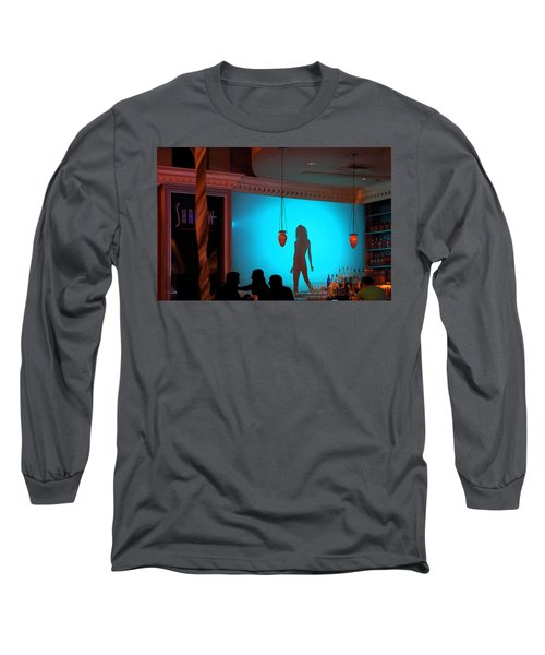 Long Sleeve T-Shirt featuring the photograph Shadow On The Wall by Viktor Savchenko