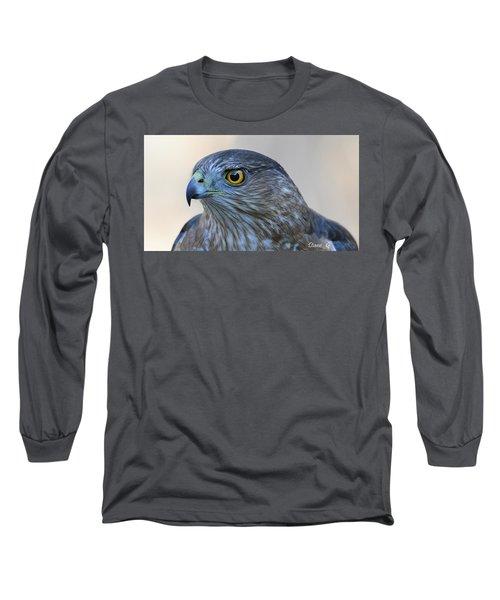 Sharp-shinned Hawk Long Sleeve T-Shirt