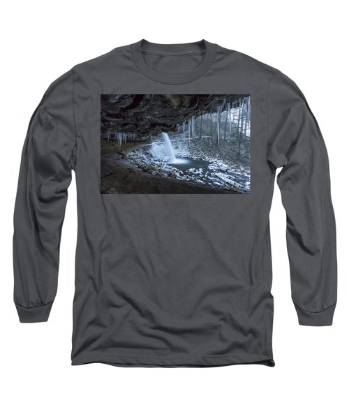 Sheltered From The Blizzard Signed Long Sleeve T-Shirt