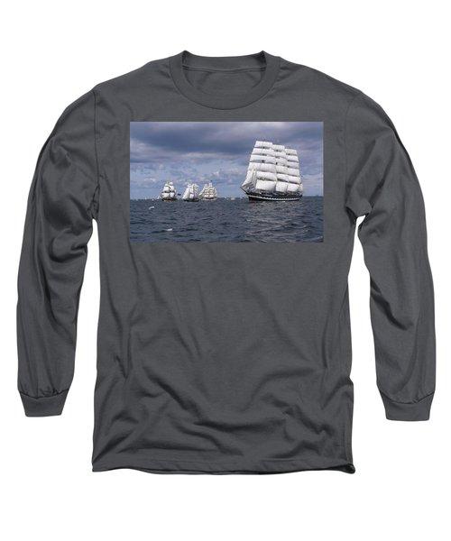 Ship Long Sleeve T-Shirt