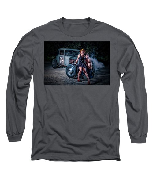 Smoke Long Sleeve T-Shirt