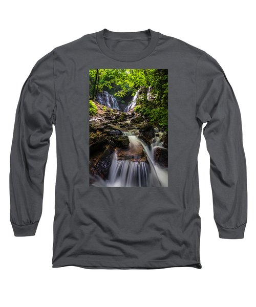 Soco Falls Long Sleeve T-Shirt by Serge Skiba