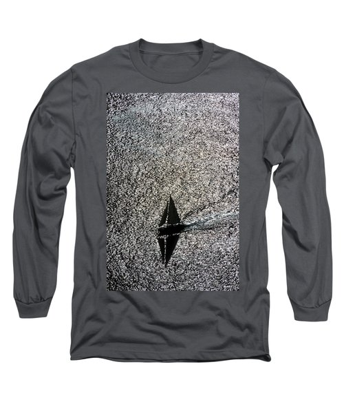Sailing Into Solitude Long Sleeve T-Shirt