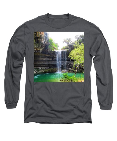 Spent The Day At Hamilton Pool. Yes Long Sleeve T-Shirt