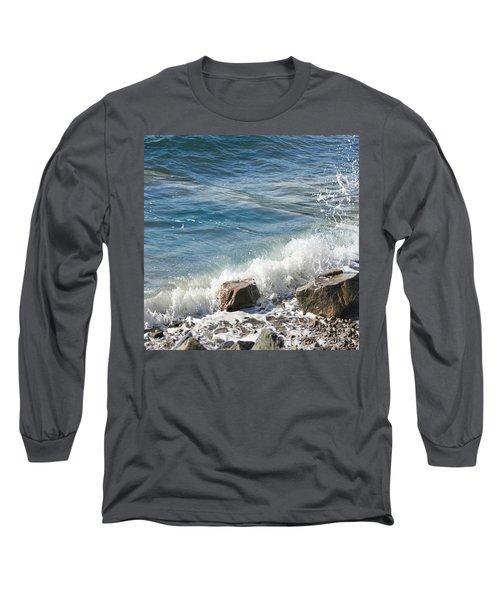 Splash Long Sleeve T-Shirt by Judy Palkimas