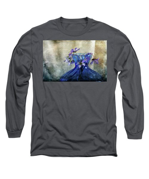 Spring Greeting Long Sleeve T-Shirt by Randi Grace Nilsberg
