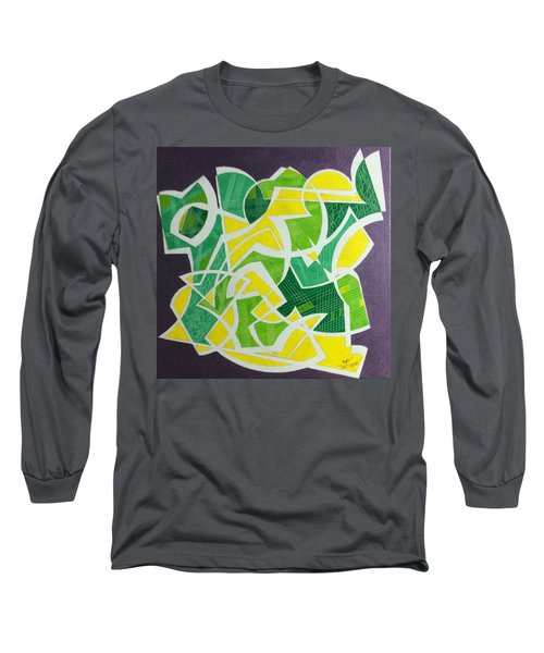 Long Sleeve T-Shirt featuring the painting Spring by Hang Ho