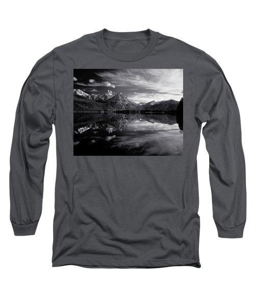 Stanley Lake Long Sleeve T-Shirt by Leland D Howard