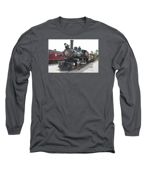 Steam Engline Number 349 Long Sleeve T-Shirt
