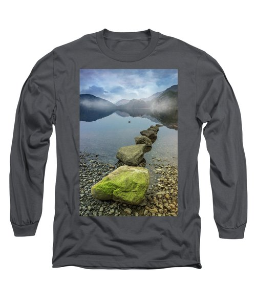 Stepping Stones Long Sleeve T-Shirt by Ian Mitchell