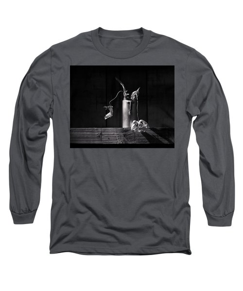 Still Life With Tulip Long Sleeve T-Shirt