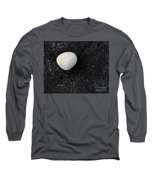 Stone In Soot Long Sleeve T-Shirt