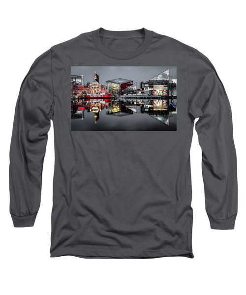 Stormy Night In Baltimore Long Sleeve T-Shirt