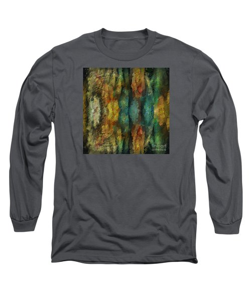 Stuck In The Middle Long Sleeve T-Shirt by Jim  Hatch