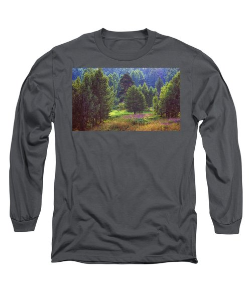 Long Sleeve T-Shirt featuring the photograph Summer Time by Vladimir Kholostykh