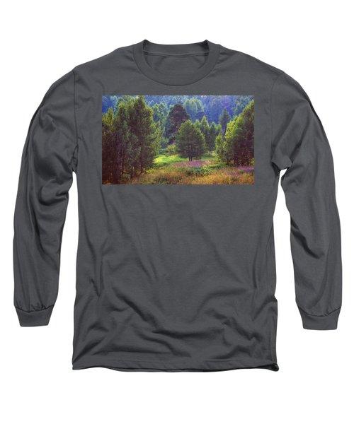 Summer Time Long Sleeve T-Shirt by Vladimir Kholostykh