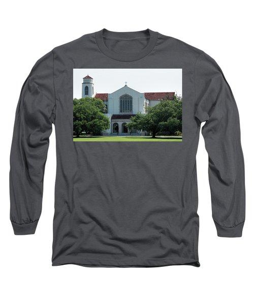 Summerall Chapel Long Sleeve T-Shirt by Ed Waldrop