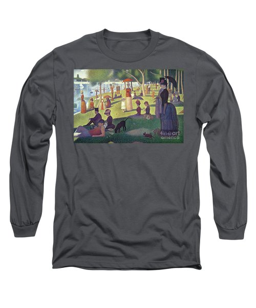 Sunday Afternoon On The Island Of La Grande Jatte Long Sleeve T-Shirt