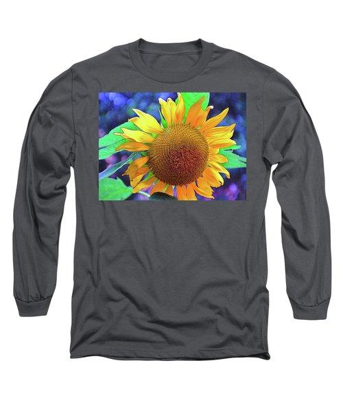 Long Sleeve T-Shirt featuring the photograph Sunflower by Allen Beatty