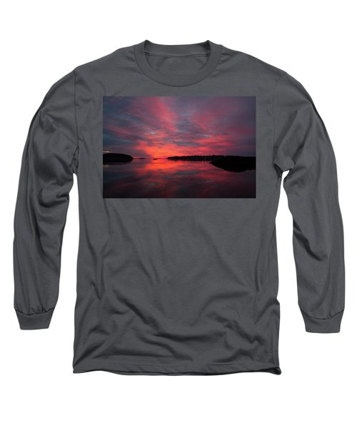 Sunrise Reflection Long Sleeve T-Shirt