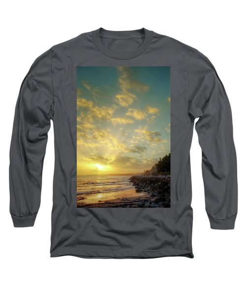 Long Sleeve T-Shirt featuring the photograph Sunset In The Coast by Carlos Caetano