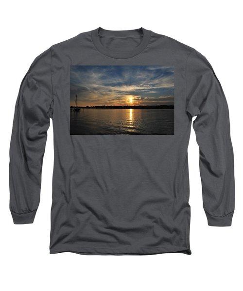 Sunset On The Bayou Long Sleeve T-Shirt
