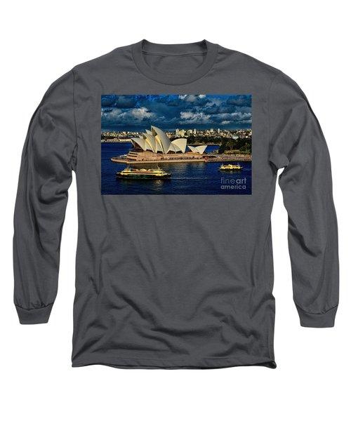 Sydney Opera House Australia Long Sleeve T-Shirt