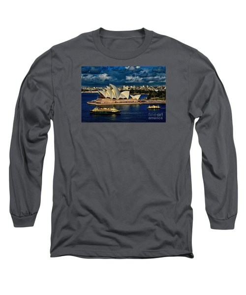 Sydney Opera House Australia Long Sleeve T-Shirt