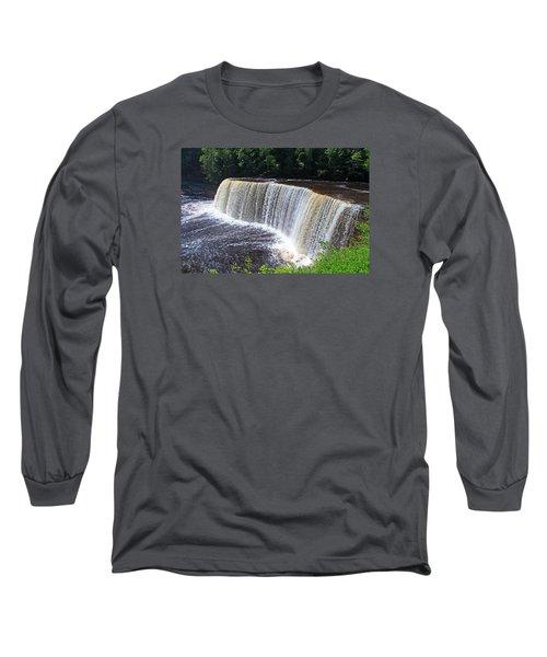 Tahquamenon Upper Falls IIi Long Sleeve T-Shirt
