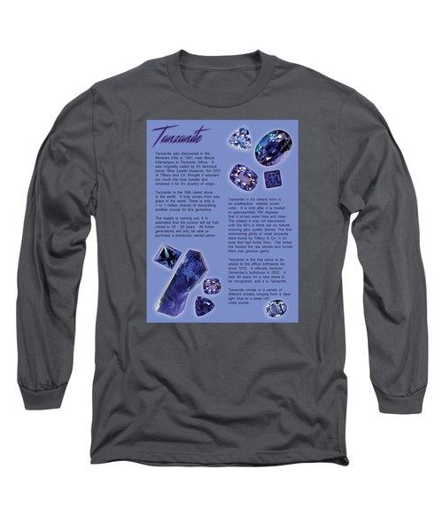 Tanzanite Brochure-inside Long Sleeve T-Shirt