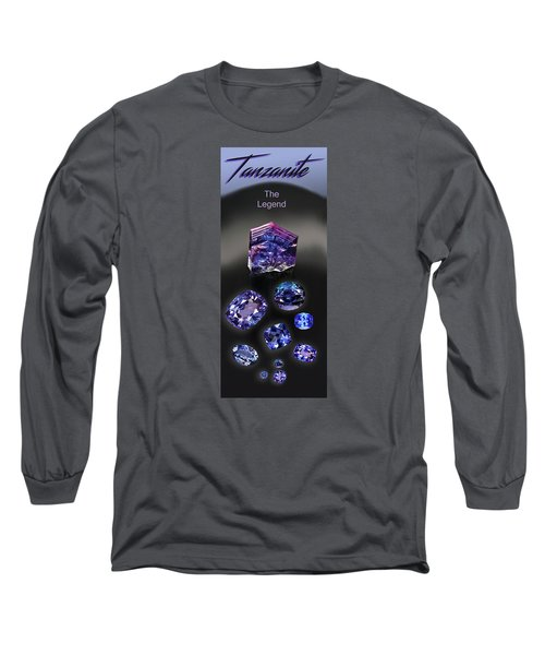 Tanzanite Brochure Long Sleeve T-Shirt