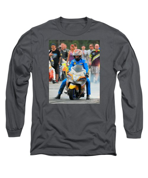 Terence Angela Long Sleeve T-Shirt