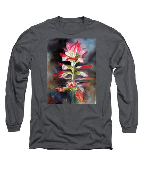 Texas Indian Paintbrush Long Sleeve T-Shirt