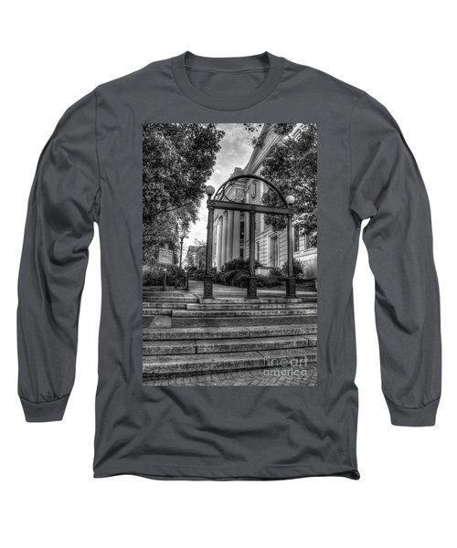 The Arch 5 University Of Georgia Arch Art Long Sleeve T-Shirt