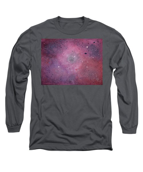 Long Sleeve T-Shirt featuring the painting the Calm by Michael Lucarelli