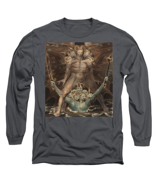 The Great Red Dragon And The Beast From The Sea Long Sleeve T-Shirt