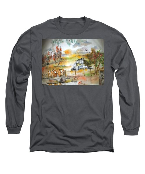 The Moose Is Loose  Album Long Sleeve T-Shirt