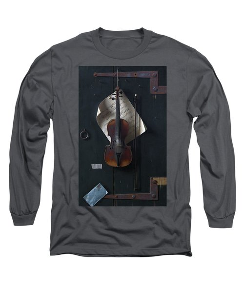 The Old Violin Long Sleeve T-Shirt
