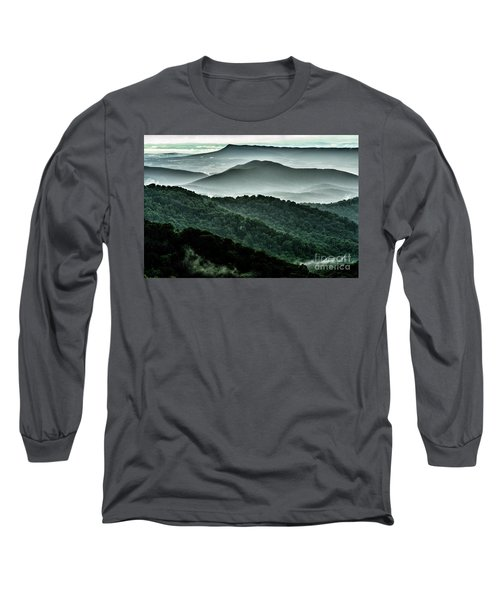 The Point Overlook Long Sleeve T-Shirt by Thomas R Fletcher
