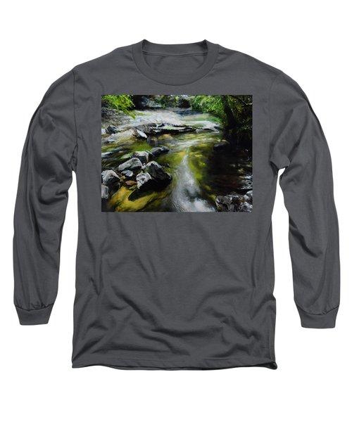 The River At Lady Bagots Long Sleeve T-Shirt