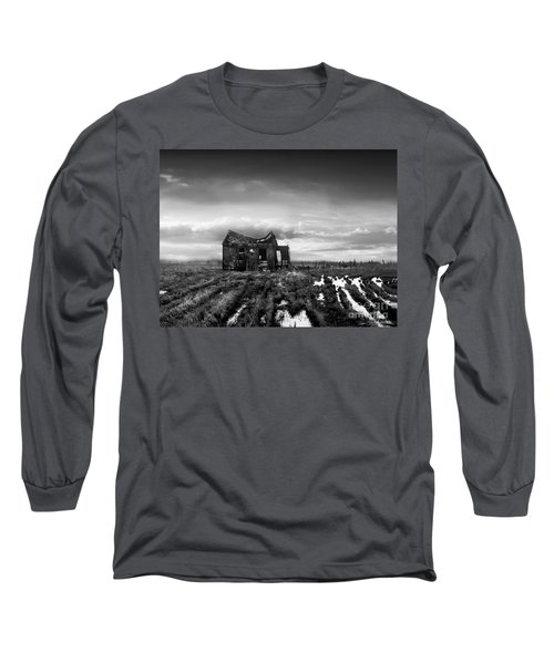Long Sleeve T-Shirt featuring the photograph The Shack by Dana DiPasquale