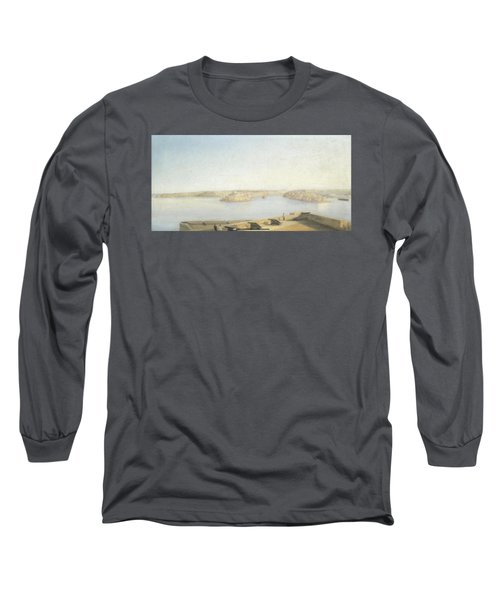 The Three Cities And The Grand Harbour Long Sleeve T-Shirt